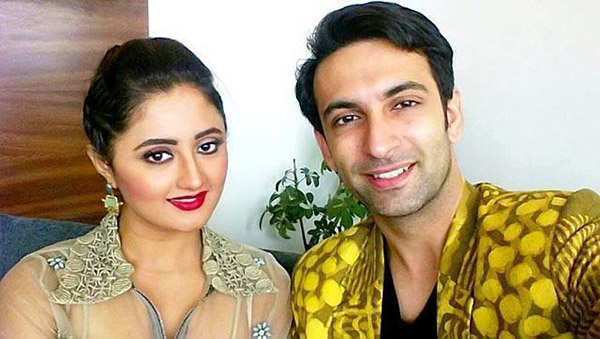 Rashami Desai with Husband