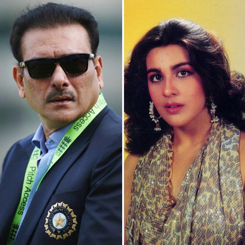 Ravi Shastri And Amrita Singh