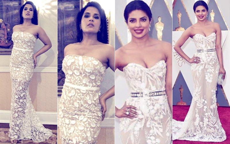 Yay Or Nay: Richa Chadha Recreates Priyanka Chopra's Oscar 2016 Look