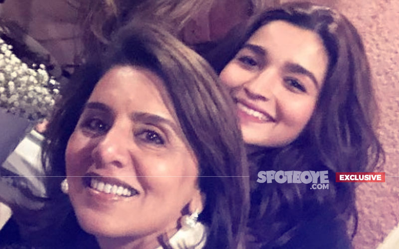 Alia Posts Kisses For Her Biggest Crush Ranbir's Mother, Neetu Kapoor