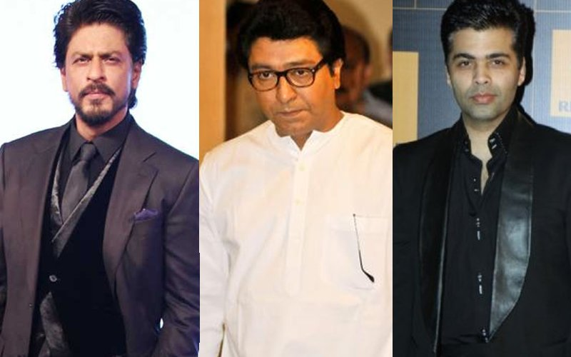 Raj Thackeray: Karan Johar And Shah Rukh Khan Will Have To Give 5 Cr As Penalty For Casting Pakistani Artistes