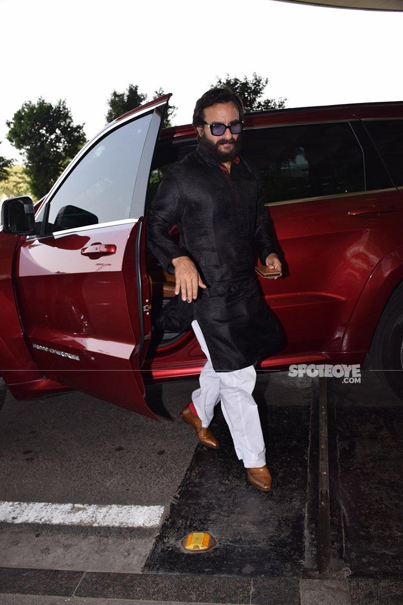 Saif Ali Khan Leaving For Jodhpur