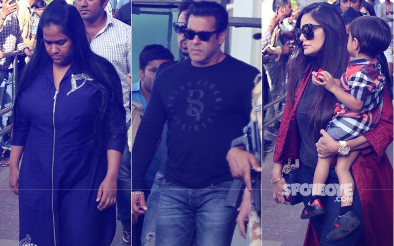Blackbuck Case: Salman Khan Lands In Jodhpur For Final Hearing