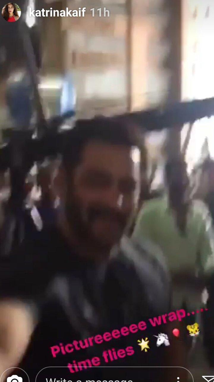 Salman Khan In Katrina Kaifs Insta Story