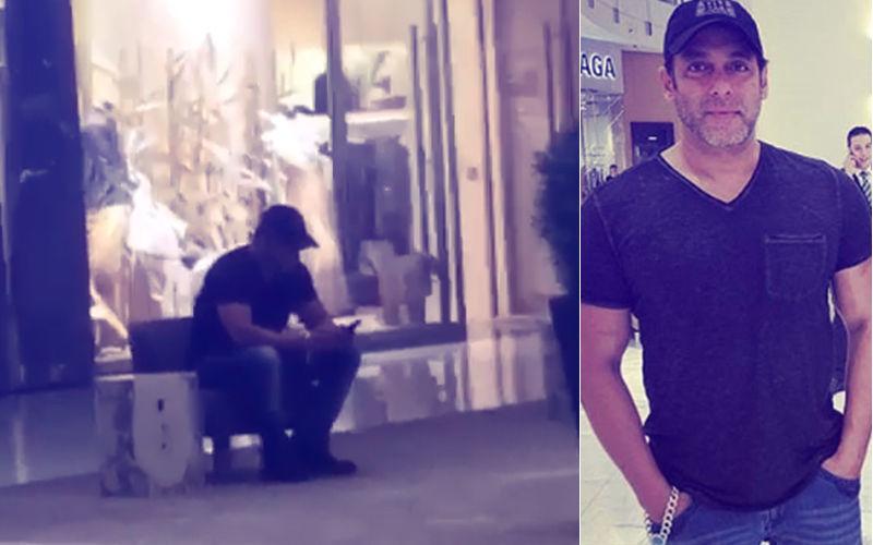 वीडियो: दुबई के एक मॉल में अकेले बैठे थे सलमान, आसपास से गुजर रहे थे लोग लेकिन कोई पहचान ना पाया