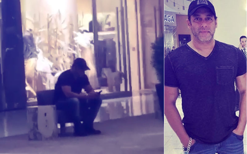 Salman Khan Inside A Dubai Mall But Nobody Recognized Him!