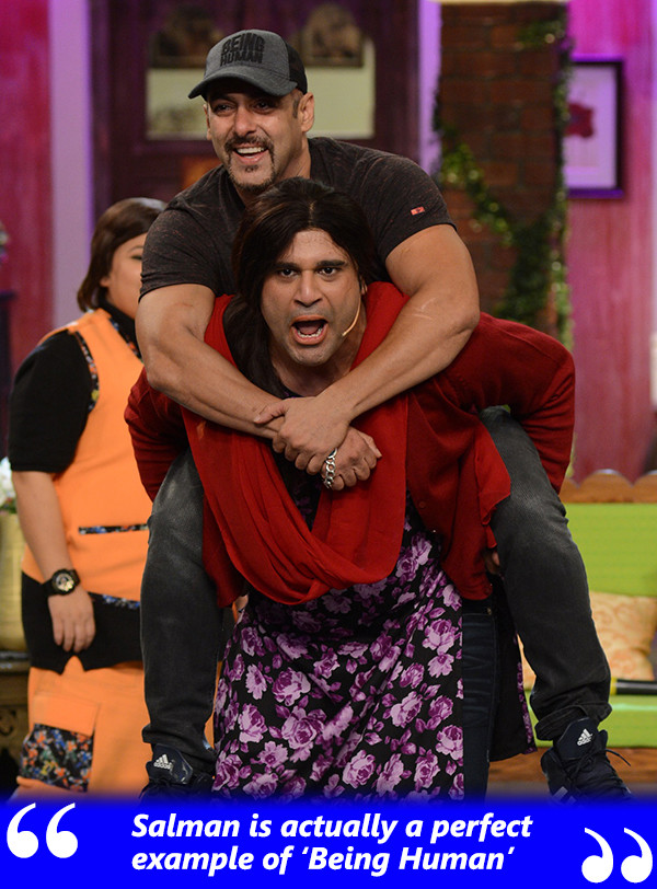 Salman Khan And Krushna Abhishek