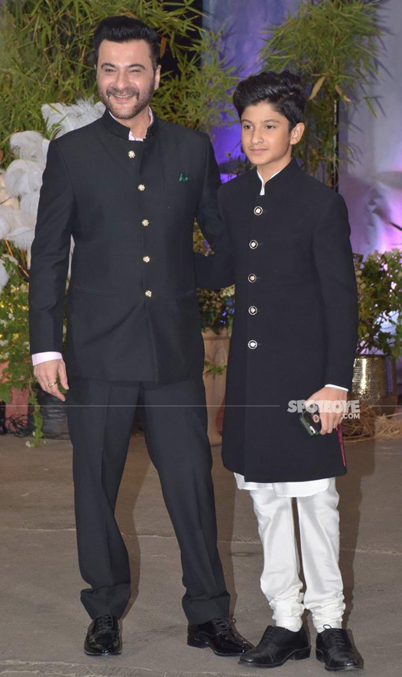 Sanjay Kapoor At Sonam Kapoor s Reception