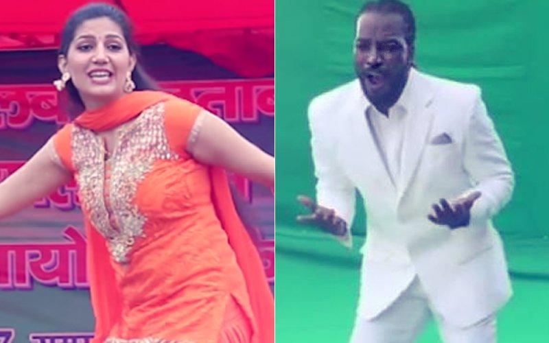 Chris Gayle Shakes A Leg To Sapna Choudhary's Haryanvi Track, Watch Video