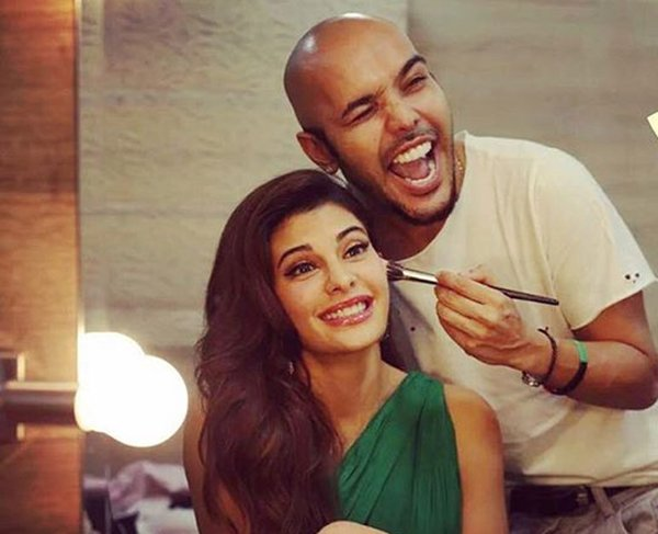 Shaan Mittathil With Jacqueline