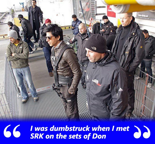 Shah Rukh Khan On The Sets Of Don 2