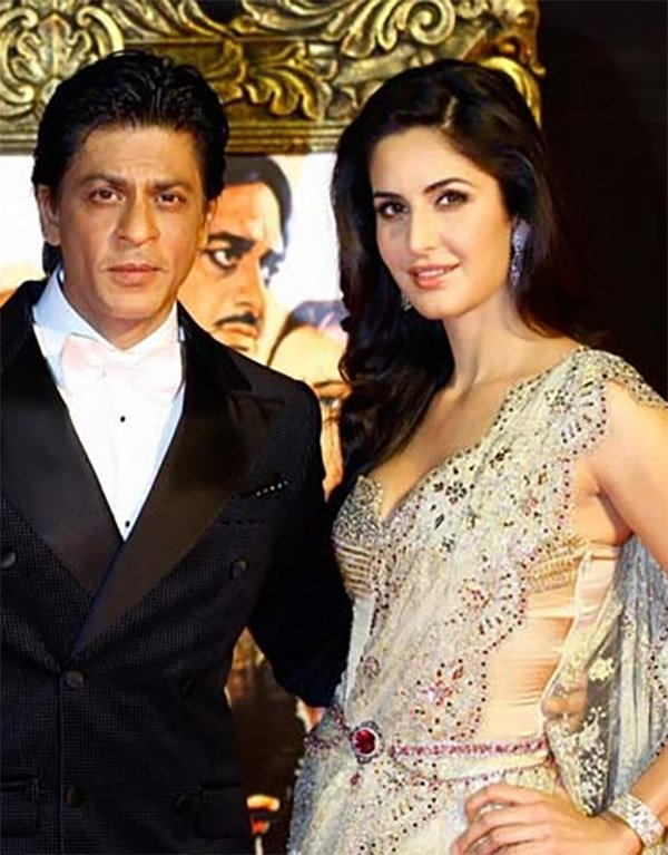 shah rukh khan and katrina kaif