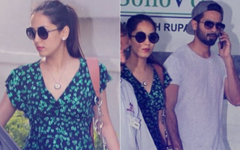 Pics: Parents-To-Be Shahid Kapoor & Mira Rajput Spotted At A Clinic In Bandra