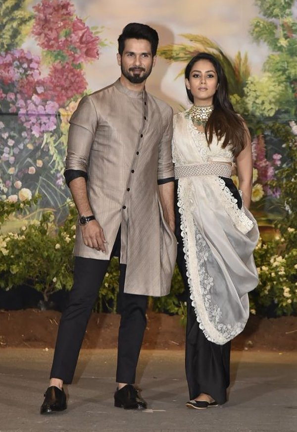 Shahid Kapoor With Mira Rajput