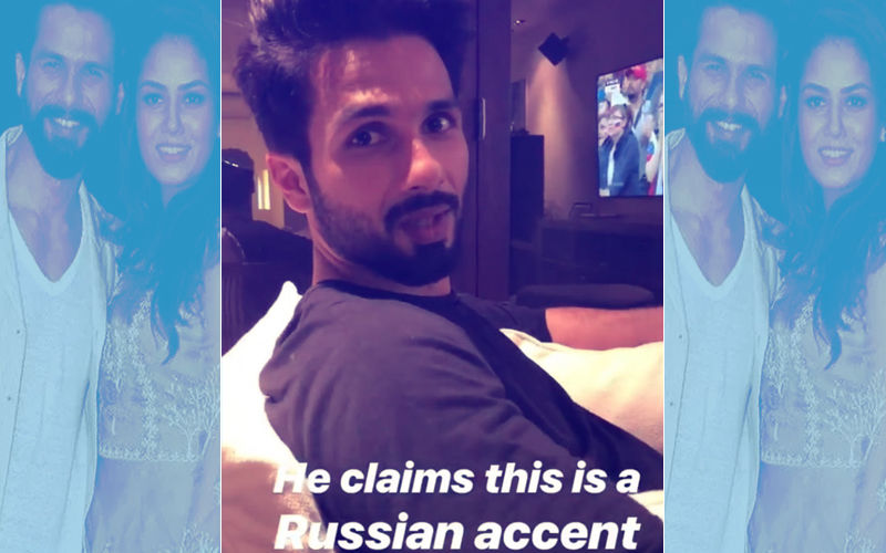 Mira Rajput Makes Fun Of Shahid Kapoor's Russian Accent