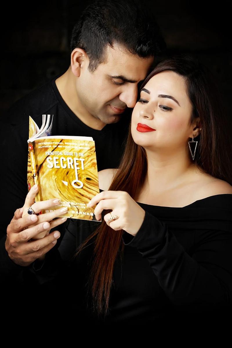 Shalini Kapoor With Rohit Sagar
