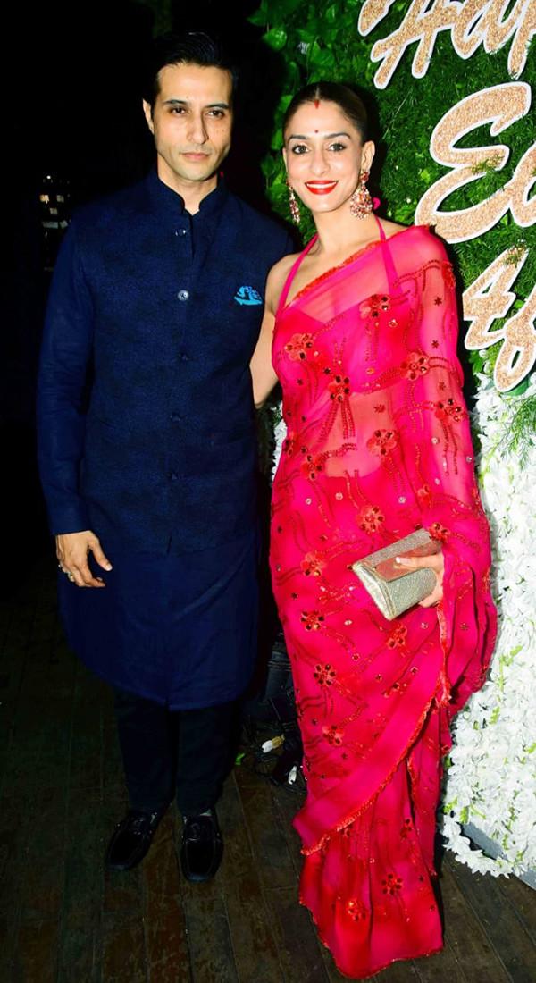 Shilpa Saklani With Husband Apurva Agnihotri