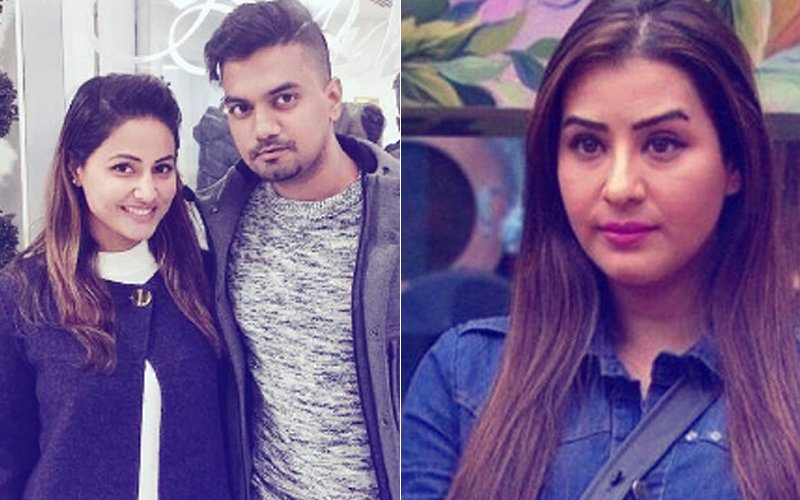 Shilpa Shinde's Fan Threatens To Leak Hina Khan's MMS, Boyfriend Rocky Jaiswal Slams Her