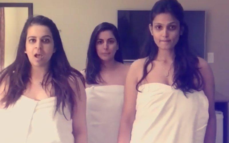 Video: दोस्तों संग तौलिए में डांस कर रही थी टीवी की ये बहु... तभी हो गया ऐसा हादसा