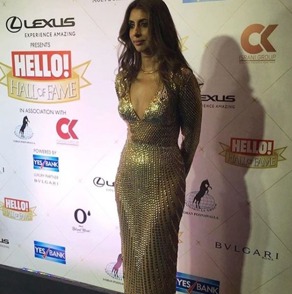 Shweta Nanda Bachchan At Hello Hall Of Fame Awards