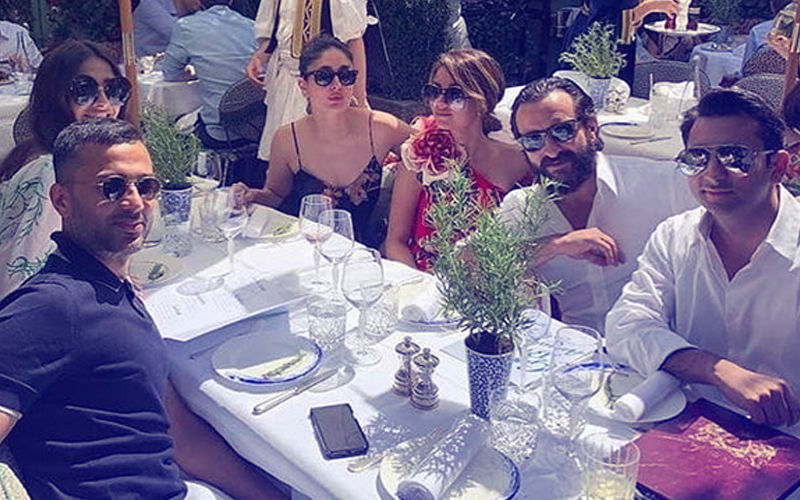 Viral Video: Kareena Kapoor-Saif Ali Khan & Sonam Kapoor-Anand Ahuja's Exotic London Brunch