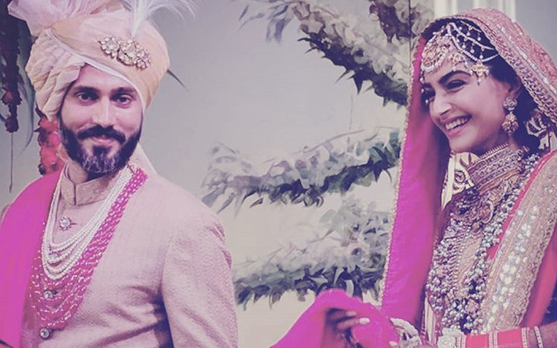 Sonam Kapoor Wedding: The First Picture Of Her Pheras