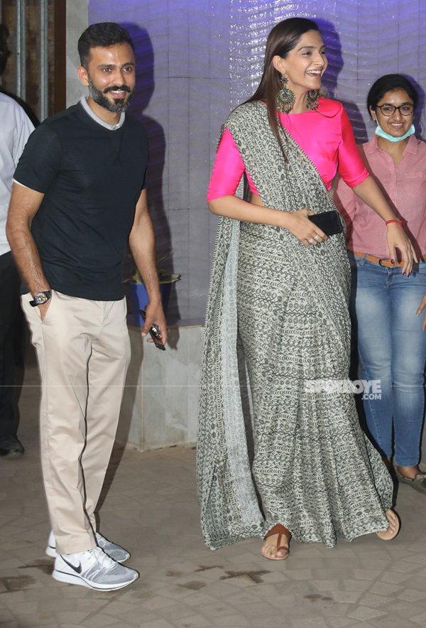 Sonam Kapoor And Anand Ahuja In Bandra
