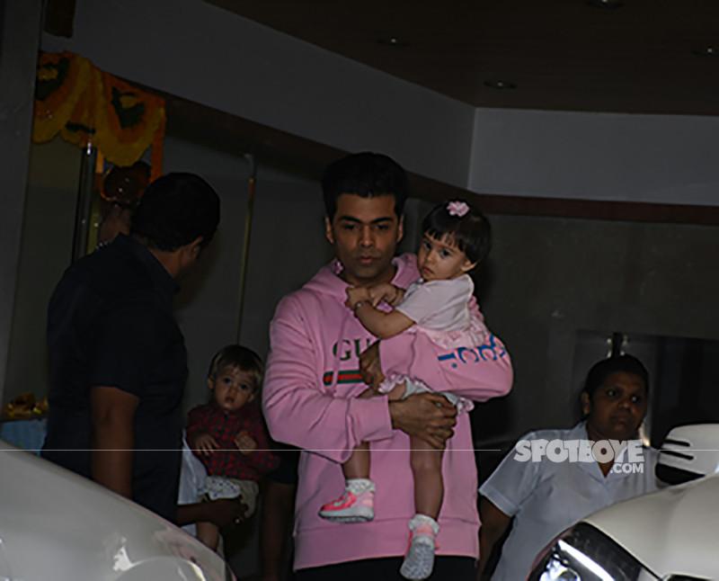 Karan Johar With Roohi