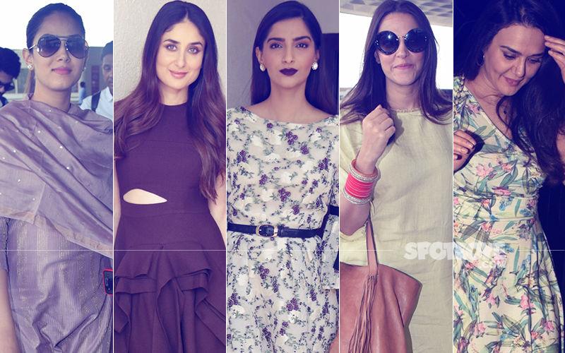 STUNNER OR BUMMER: Mira Rajput, Kareena Kapoor, Sonam Kapoor, Neha Dhupia Or Preity Zinta?