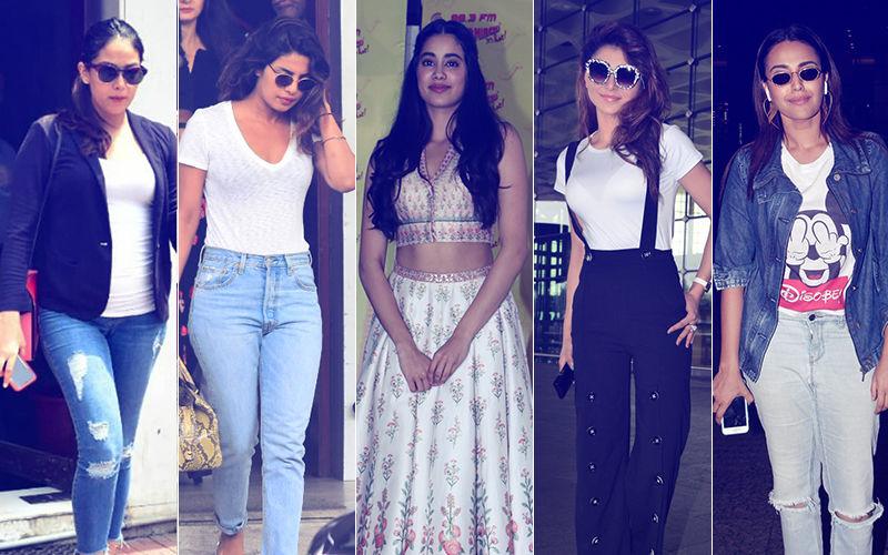 STUNNER OR BUMMER: Mira Rajput, Priyanka Chopra, Janhvi Kapoor, Urvashi Rautela Or Swara Bhasker?