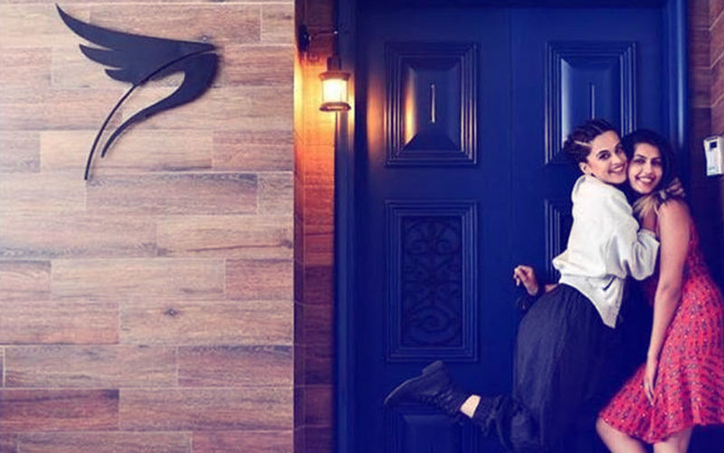 First Picture From Taapsee Pannu's Swanky New House