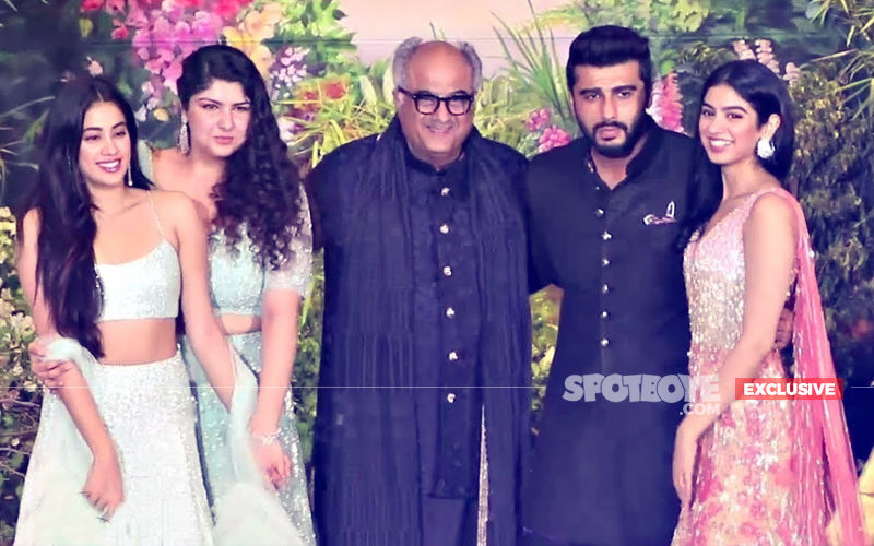 Boney Kapoor On His 4 Children- Arjun, Anshula, Janhvi & Khushi's Changed Equation