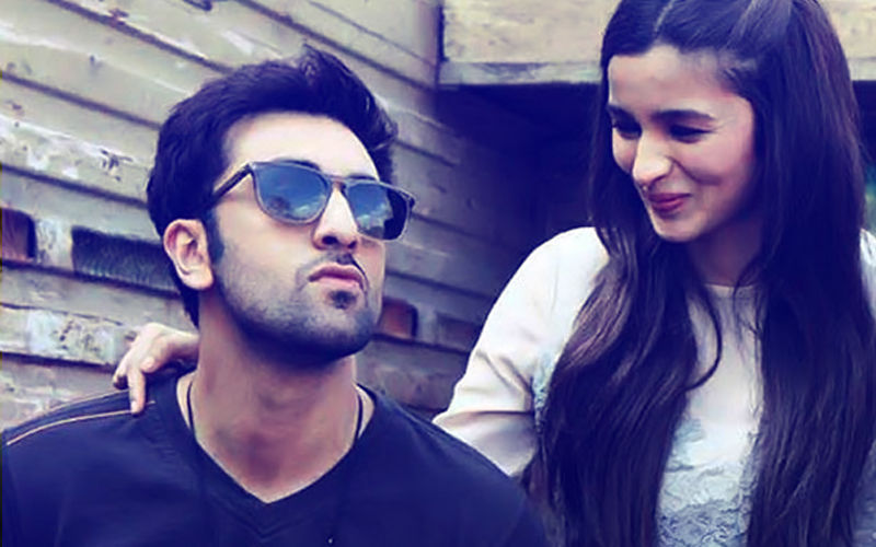 Ranbir Kapoor Can't Stop Taking Alia Bhatt's Pictures. Check Out The Latest One...