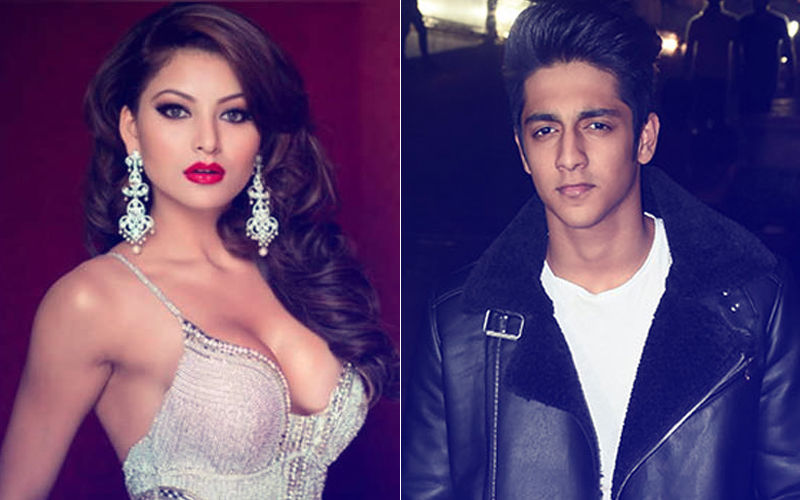 Ahaan Panday Caught Cosying Up With Hottie Urvashi Rautela