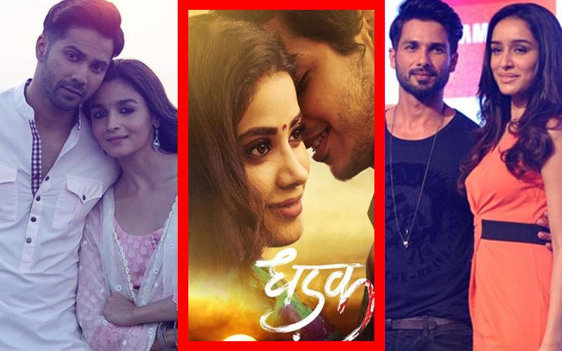 Great First Impression: Varun, Alia, Shahid, Shraddha Hail Janhvi's Performance In Dhadak Trailer