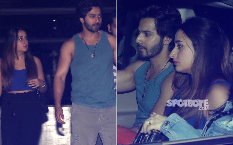 Varun Dhawan's Night Out With Girlfriend Natasha Dalal