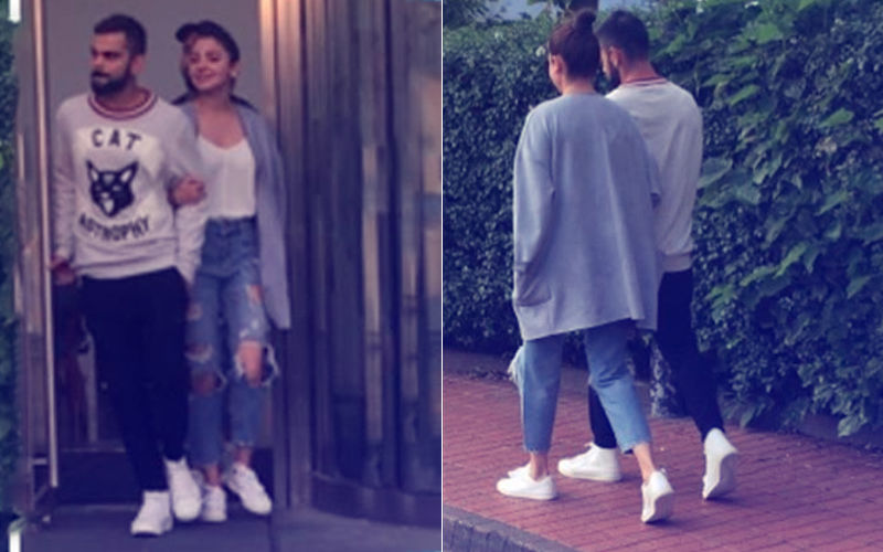 Hand-In-Hand With Virat, Anushka Sharma Spends Quality Time With Hubby Ahead Of India's Match
