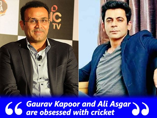 Virendra Sehwag And Sunil Grover