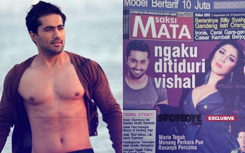 Indonesian Model Claims Having A Steamy Affair With Bigg Boss Star Vishal Karwal