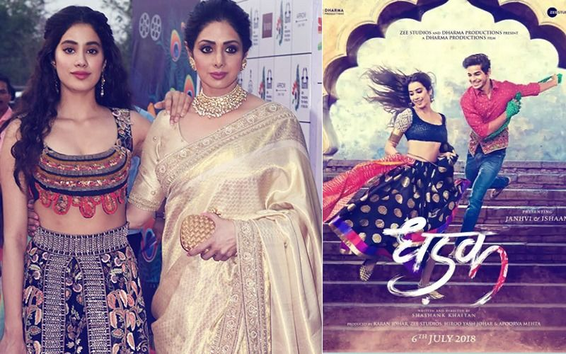 Here's What Sridevi Had Told Janhvi After Watching 25 Minutes Of Dhadak...