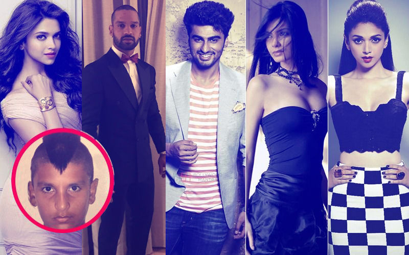 Deepika, Dhawan, Arjun, Aditi & Diana's Priceless Reactions To Ranveer's Mohawk Haircut Post