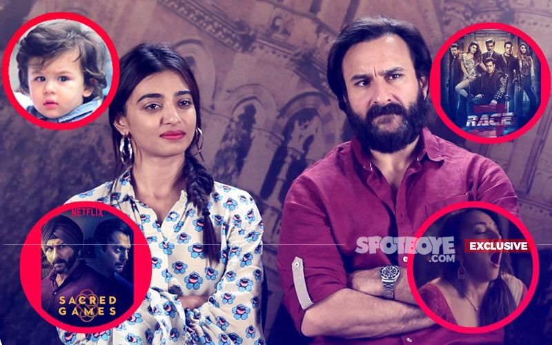 Saif & Radhika: All About Taimur, Race 3, Sacred Games, Kiara's Self-Gratification Scene...