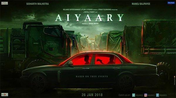 aiyaary poster