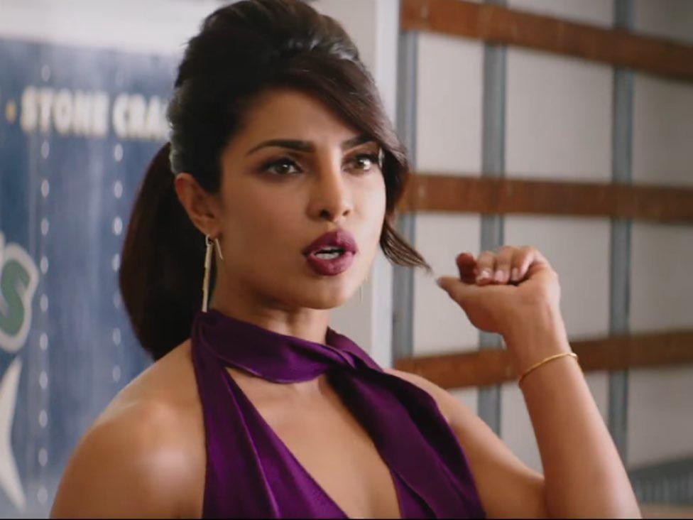 a still from baywatch featuring priyanka chopra