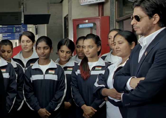 a still from chak de