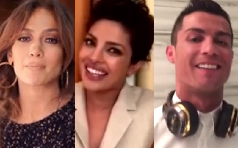 Check out Priyanka Chopra's music video with JLo and Christiano Ronaldo