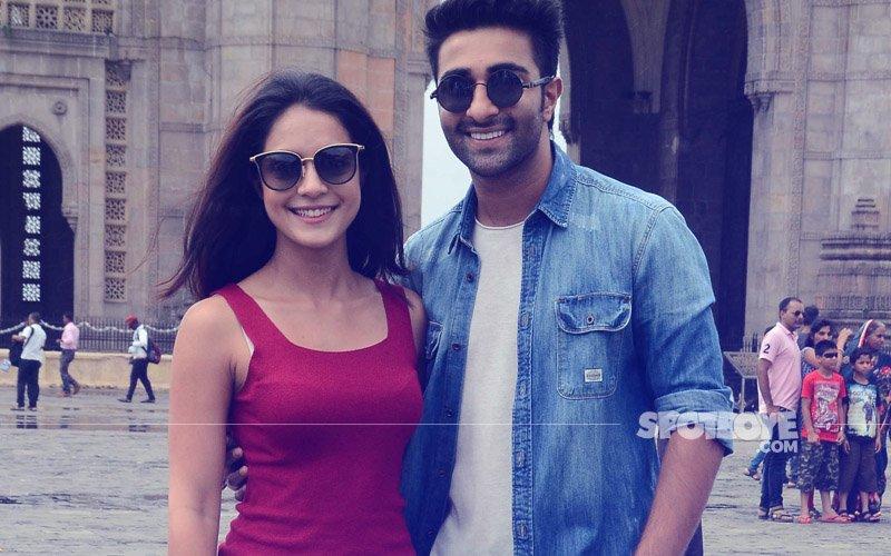 Aadar Jain & Anya Singh Launch The First Song From Qaidi Band At Gateway Of India