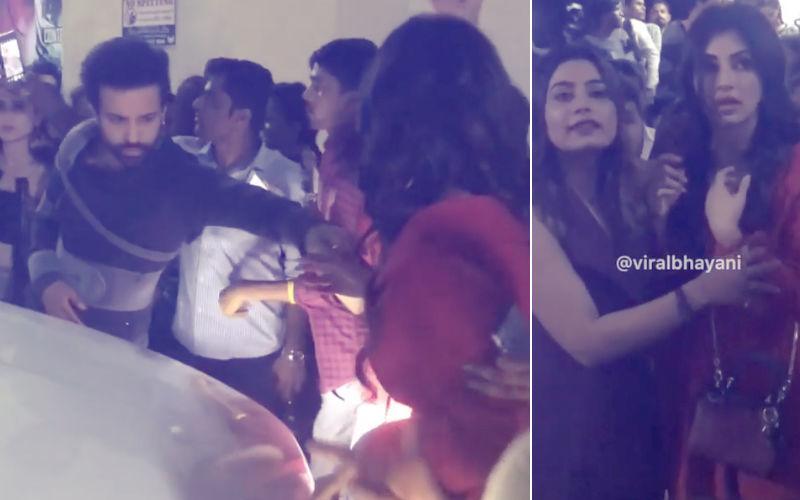 भीड़ में फंसी मौनी रॉय को ऐसे बचाया एक्टर आमिर अली ने, फ़िल्मी नहीं असली कहानी है ये