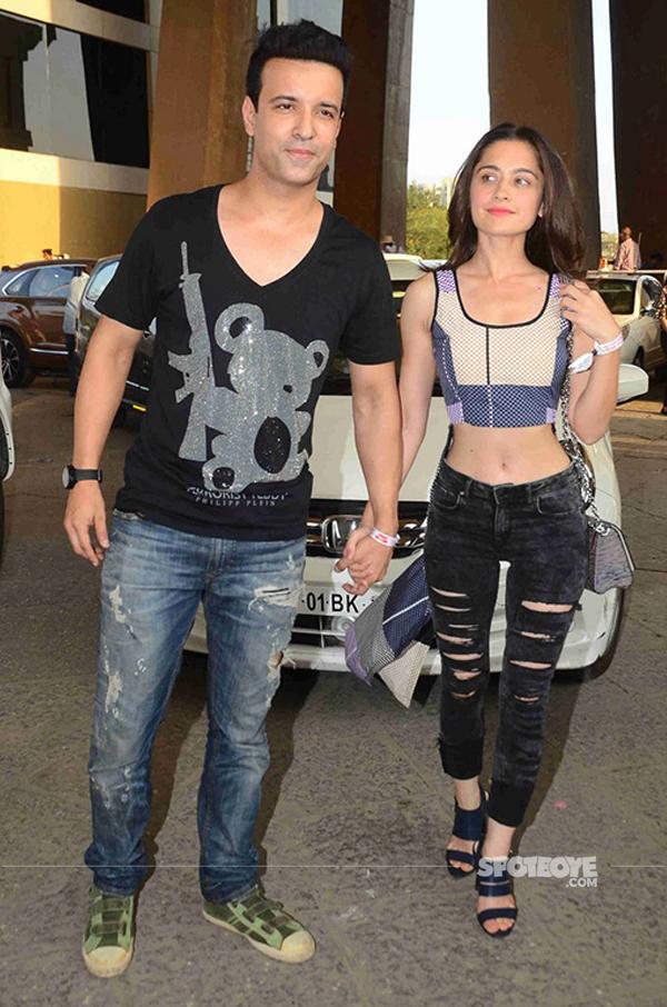 aamir ali and sanjeeda shaikh at justin bieber purpose world tour