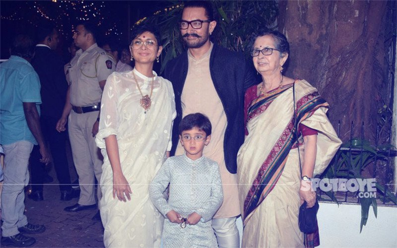 Check Out The Pictures From Aamir Khan's Massive Diwali Bash